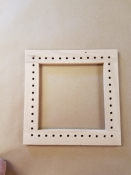 "10"" Square Caning Frame"