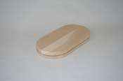 "3 1/2"" x 7 1/2"" x 1/2"" Flat Sided Oval"