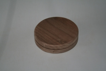 "5"" x 3/4"" Round Walnut Base"
