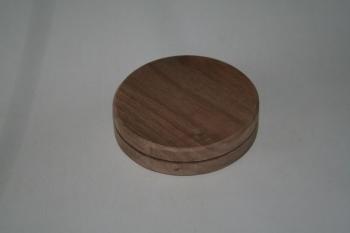 """6"""" x 3/4"""" Round Walnut Base"""