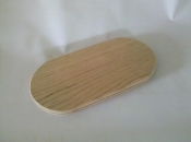 "5"" x 10"" x 3/4"" Flat Sided Oval"
