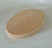 "4"" x 9"" x 3/4"" Double Slotted Oval"