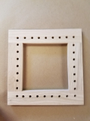 "8"" Square Caning Frame"