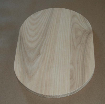 "8"" x 10"" Double Slotted Flat Sided Oval"