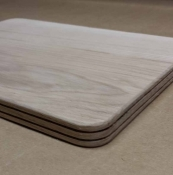 "12"" x 14"" x 3/4"" Double Slotted Rectangular"