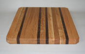 "Hardwood Butcher Block 9"" x 13"" Cutting Board"