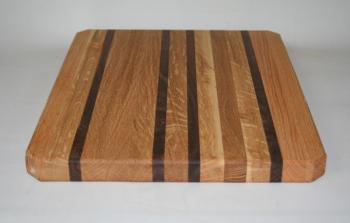 "Hardwood Butcher Block 9"" x 13"" Cutting Board"