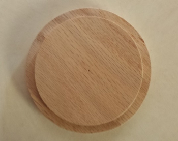 "6"" round lid and base"