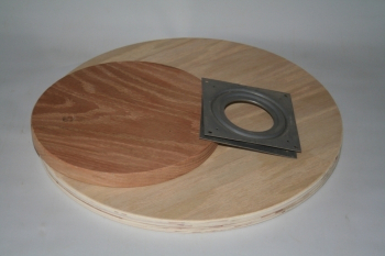 "13"" Lazy Susan Oak"