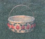 Poinsettia Basket