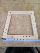 Trapezoidal Caning Frame